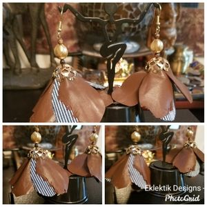 Earrings handcrafted